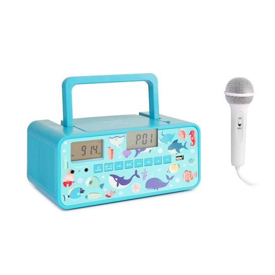 Kidsbox Underwater CD Boombox