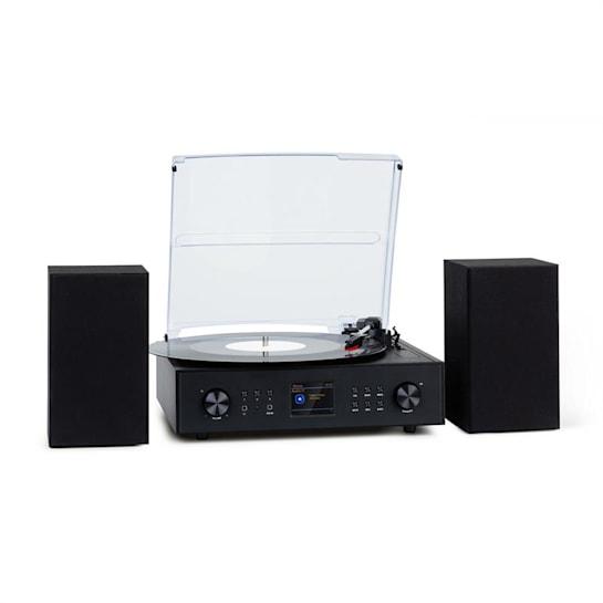 Connect Vinyl smart radio giradischi 2 altoparlanti 20Wmax internet/DAB+