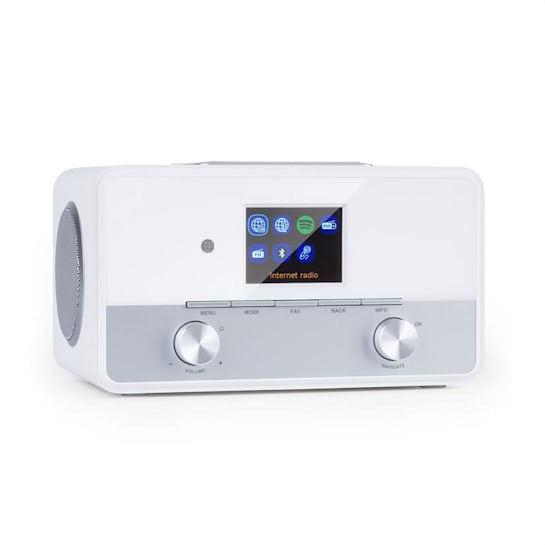 "Connect 150 SE 2.1 radio internet DAB/DAB+/PLL-FM BT display TFT da 2,8"" bianco"