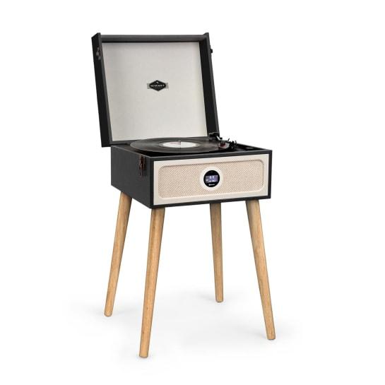 Sarah Ann DAB Record Player 33/45/78 rpm DAB + / FM Radio Bluetooth Black