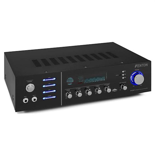 AV320BT, surround HiFi zesilovač, 200 W RMS, (2 x 100 W na 8 Ohm), BT/USB /AUX