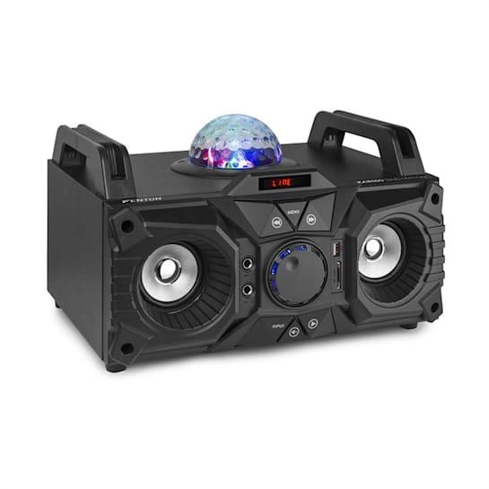 KAR100 Sing Station 100W Akku USB Bluetooth AUX-Eingang schwarz