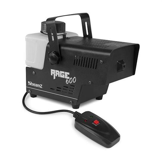 Rage 600 macchina del fumo 600W 65m³/min 0,5l telecomando a cavo