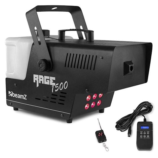Rage 1500 LED macchina del fumo 6 LED RGB x 9W 1500W 350m³/min 3,5l serbatoio