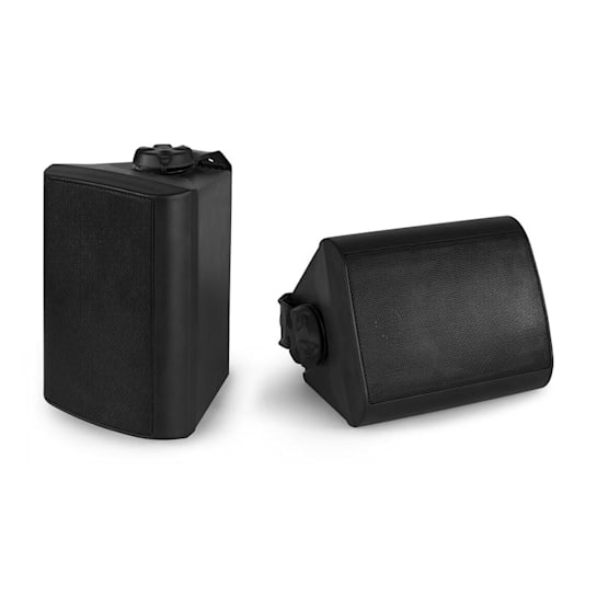 BGO40 Zestaw kolumn głośnikowych 100 W 4-calowy głośnik niskotonowy 3/4-calowy głośnik wysokotonowy, czarny