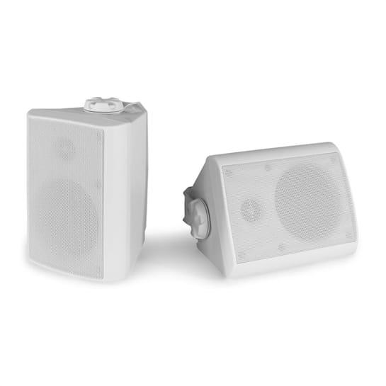 BGO40 Zestaw kolumn głośnikowych 100 W 4-calowy głośnik niskotonowy 3/4-calowy głośnik wysokotonowy biały