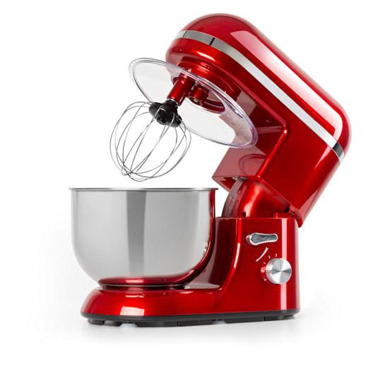 Bella Elegance Food Processor 1300W 1.7 HP 6 Steps 5 Litres Red