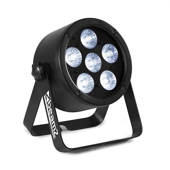 Professional BAC300 ProPar, projektor, 6 diod LED 4 w 1 8 W, RGBW, ściemniacz, pilot zdalnego sterowania