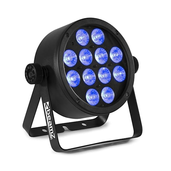 Professional BAC304 ProPar 12x 8W 4in1 LEDs RGBW Escurecedor Controlo Remoto