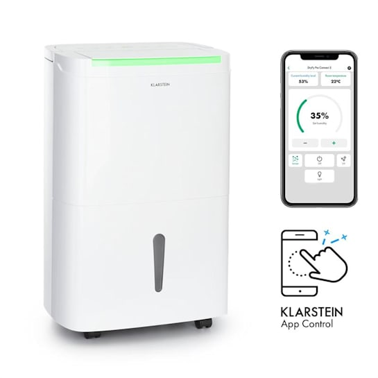 DryFy Connect 30 Dehumidifier WiFi Compression 30l / d 25-30m² White