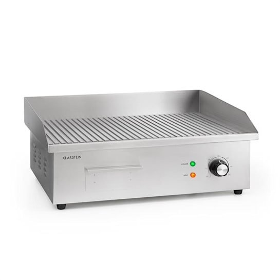 Grillmeile 3000R Pro Electric Grill 3000W Plate 54.5x35cm Rippled