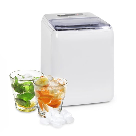 Coolio Eiswürfelmaschine Klareis 20kg/24h Wassertank: 2,8 l weiß