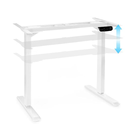 Multidesk Comfort Adjustable Height Desk Electric White
