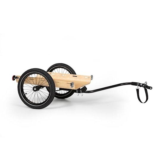 Companion Travel Cargo Trailer 40kg Bike Trailer Black / Wood