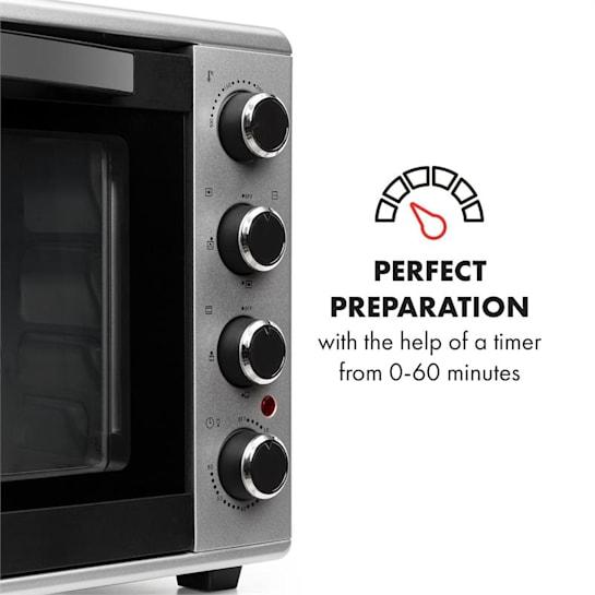 Klarstein Masterchef 45 Mini Oven 45l 2000w 100 230 176 C