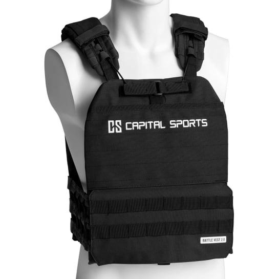 Battlevest 2.0 Weight Vest 17,5 lbs Black