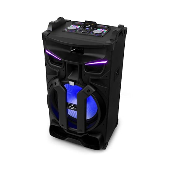 "Silhouettes party sound system 15"" altoparlante USB, SD, BT 450W nero"
