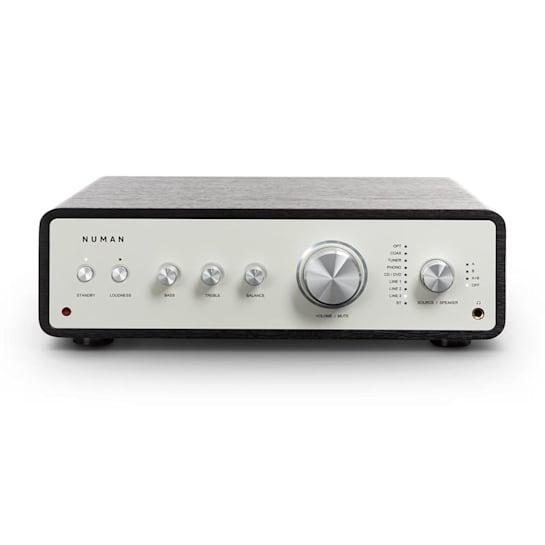 Drive digitaalinen stereovahvistin 2 x 170 W / 4 x 85 W RMS AUX/phono/coax musta