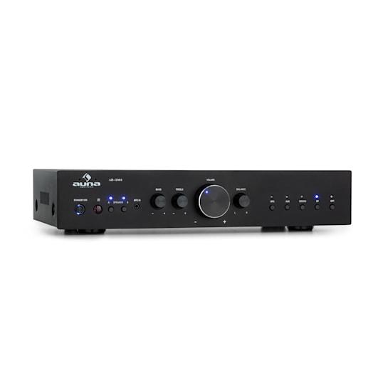 AV2-CD608BT amplificateur HiFi Stéréo 4 x 100 W RMS BT Dig-Opt-In noir