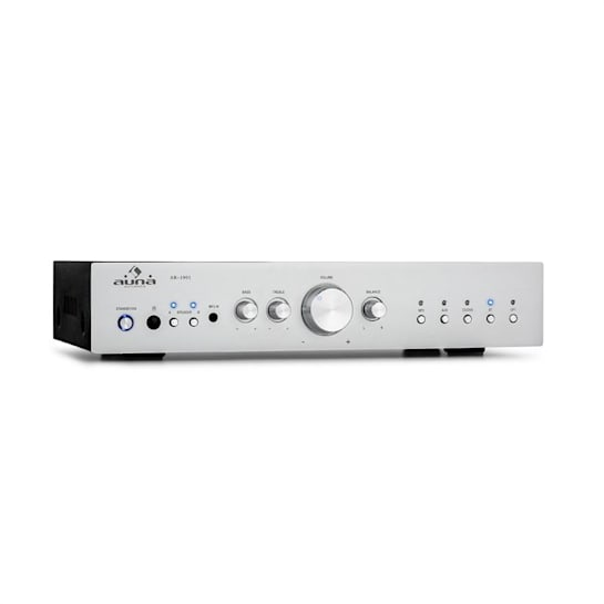 AV2-CD608BT HiFi Stereo Amplifier 4x100W RMS BT Dig-Opt-In Silver