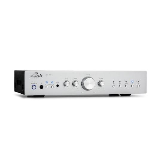 AV2-CD608BT HiFi Stereo Amplifier 4x100W RMS BT Dig-Opt-In Silver
