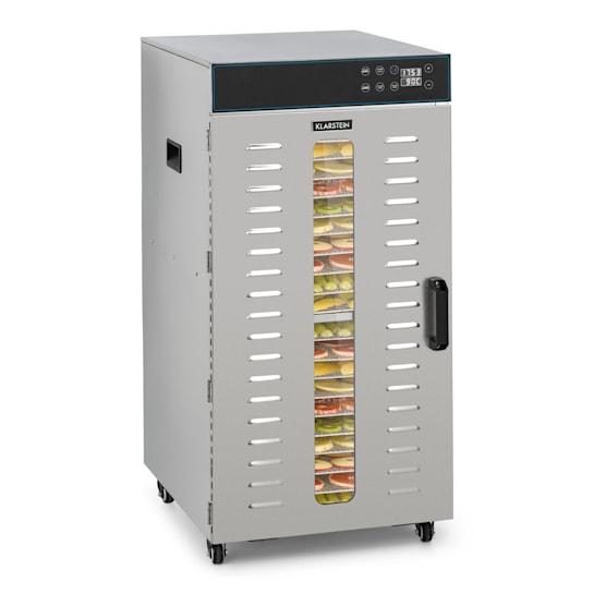 Master Jerky 300, sušička potravin, 2000 W, 40 - 90 ° C, 24 hod. časovač, ušlechtilá ocel, stříbrná