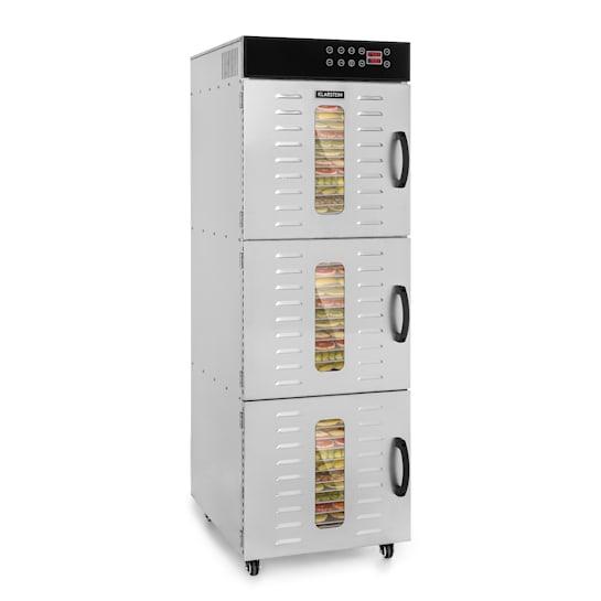 Master Jerky 550 essiccatore 2400W 40-90 °C timer 24 ore acciaio inox argento