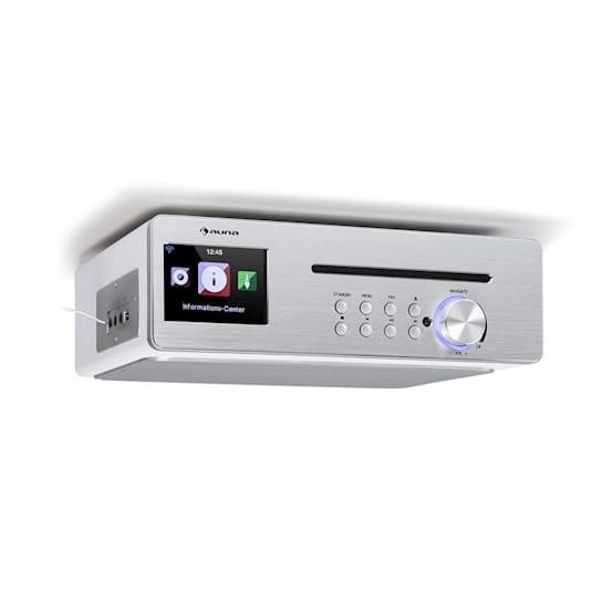 Silverstar Chef radio da cucina 20W max. CD BT USB internet/DAB+/FM bianco