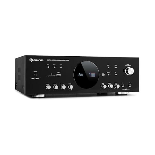 AMP-218 BT Surround Amplifier 5.1 2 x 120W 3 x 50W RMS BT 2 x Mic