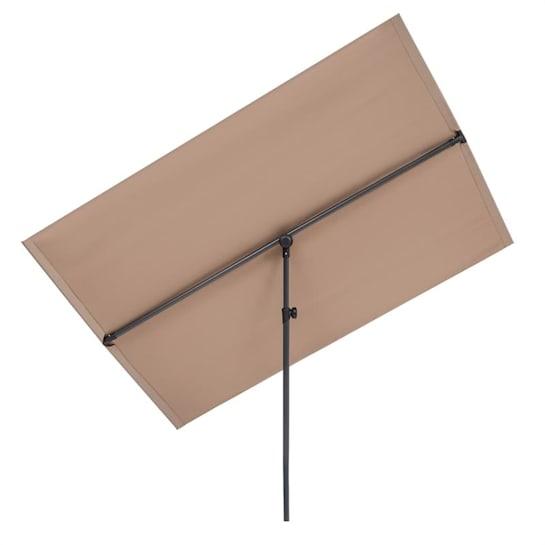 Flex-Shade XL -auringonvarjo 150 x 210 cm polyesteri UV 50 taupe