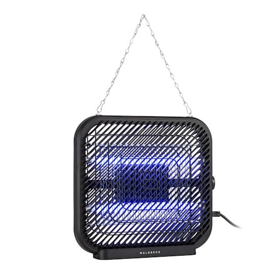 Skyfall SQ Insektenvernichter 16W 50m² UV-Lampen Auffangschale Kette schwarz