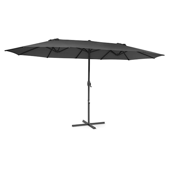 Twin Peaks Parasol Polyester UV 50 Water-Repellent Grey