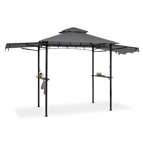 Steakhouse Wings Pavilion 244x260x152cm 160 g / m² Polyester Steel Grey