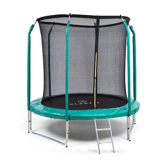Jumpstarter trampolino rete 2,5m Ø marchio GS 120kg max. verde scuro