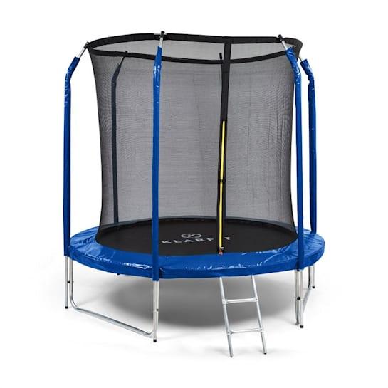 Jumpstarter Tappeto Elastico Rete 2,5m Ø Marchio GS 120kg max. blu scuro