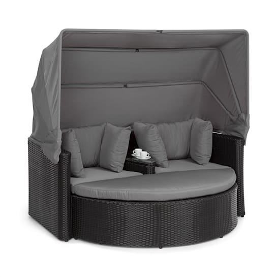 Heartland 2 Sitzer-Lounge-Sofa mit Kaffeetisch Loveseat Gartenliege