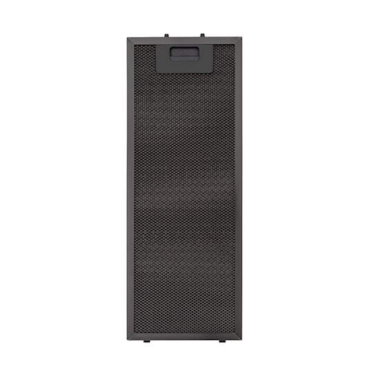 Paolo 52 Aluminium-Fettfilter 16,8 x 44 cm Austauschfilter Ersatzfilter Zubehör schwarz