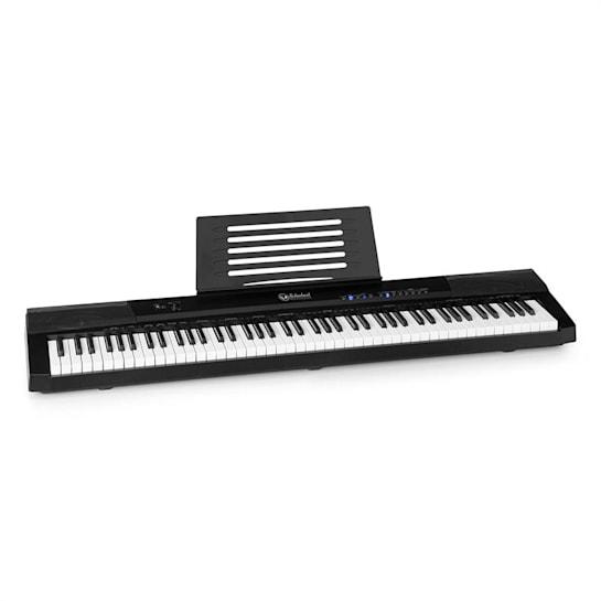 Preludio Keyboard 88 Tasten Anschlagsdynamik Sustain Pedal schwarz