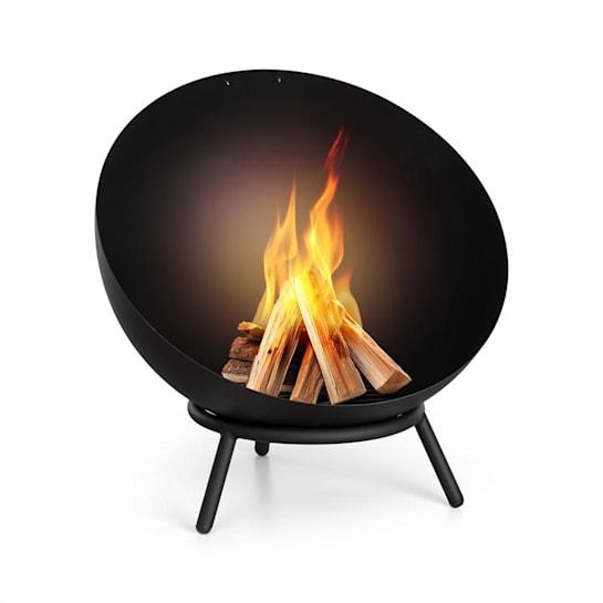 Fireball Tiltable Steel Fire Bowl for Garden or Terrace Ø 60 cm