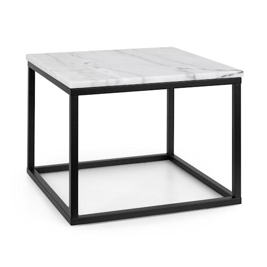 Volos T50 sohvapöytä 50 x 40 x 50 cm marmoria sisälle & ulos mustavalkoinen