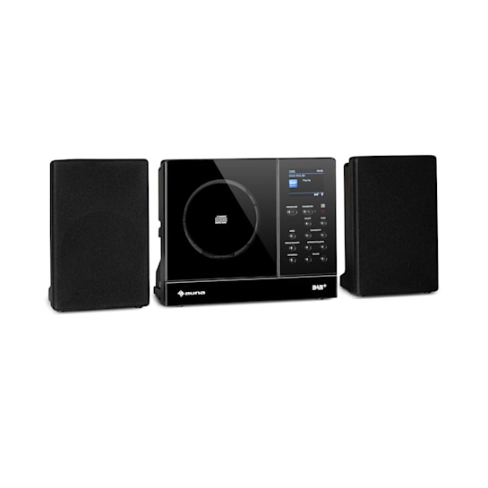 Connect Vertical Internetradio 2x5 W RMS CD IR/UKW/DAB+ Spotify BT schwarz