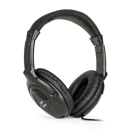 QTC SHB40 cuffie stereo HiFi cavo ca. 2,5 m jack da 3,5 mm nero