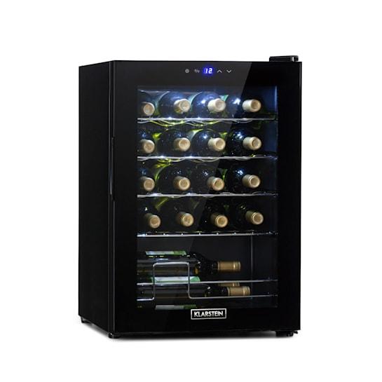 Shiraz 20 Uno Weinkühlschrank 53l 20Fl Touch-Bedienfeld 5-18°C