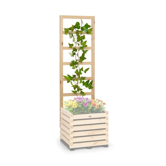 Modu Grow 50 UP Spalier Rankhilfe 151 x 50 x 3 cm kiefer