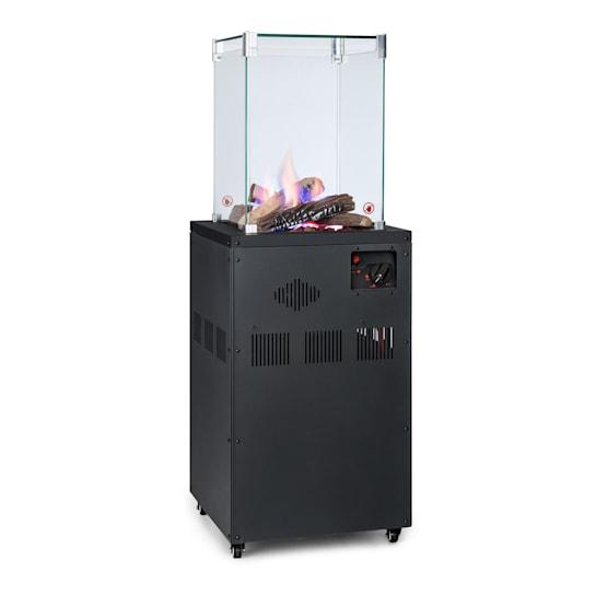 Flagranti Crystal View, plinski grijač, 8 kW, nehrđajući čelik