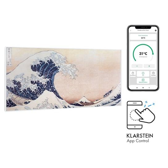 Wonderwall Air Art Smart Infrared Heater 120x60cm 700W App Waves