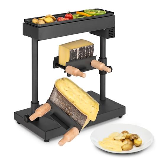 Appenzell XL Raclette mit Grill 600 W Thermostat 2 Käseträger