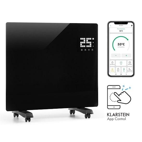 Bornholm, Single Smart, Convection Heater, 1000W, App Control, Black