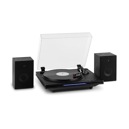 TT-Play PLUS, Giradischi, Altoparlanti, BT, 33/45/78 rpm, 20Wmax.