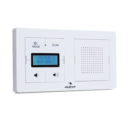 DigiPlug UP, radio da incasso, DAB+/FM, BT, display LC